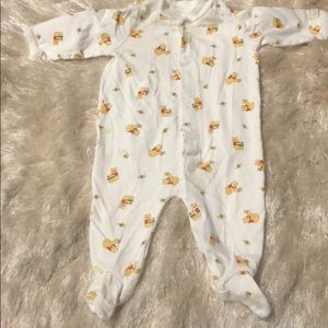 Winnie the Pooh Disney Baby Footie PJ 0-3 months